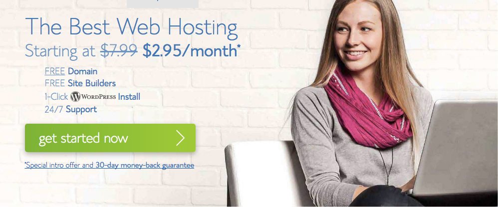 Bluehost Hosting For WordPress
